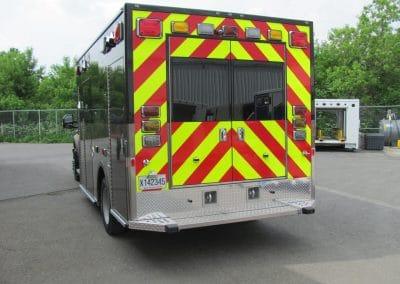 Tri-Towns EMS - Rear