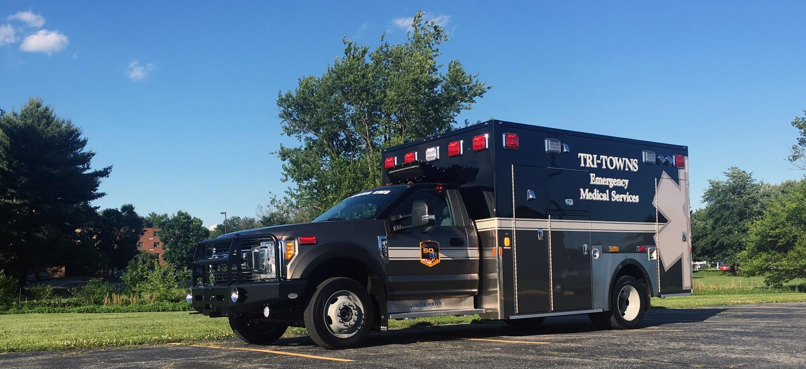 Tri-Towns EMS  Demers MXP170 Ambulance