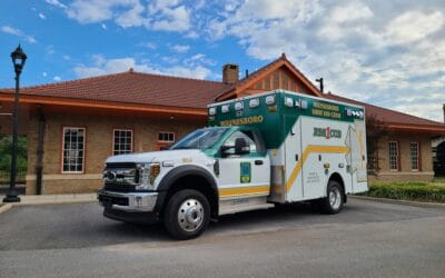 Wayneboro First Aid Crew's Demers MXP150
