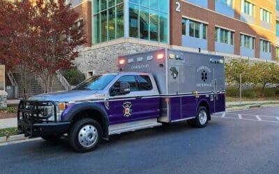 Oakwood Fire & Rescue's Demers MXP150