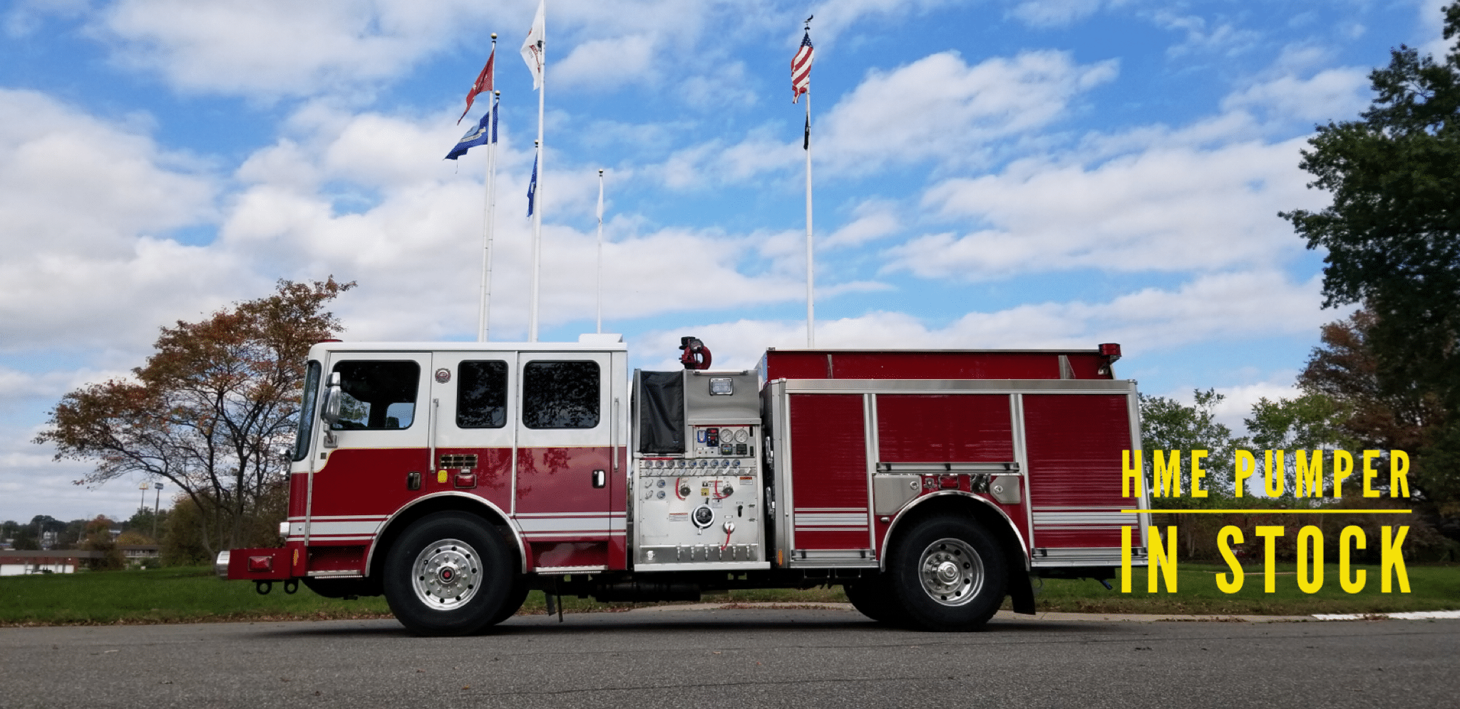 HME 1871SFO Rescue Pumper