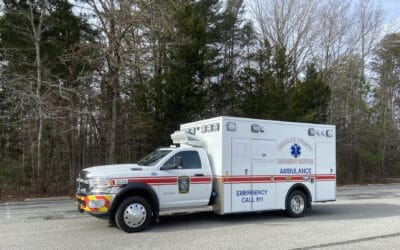 Charles County EMS' Demers MXP170