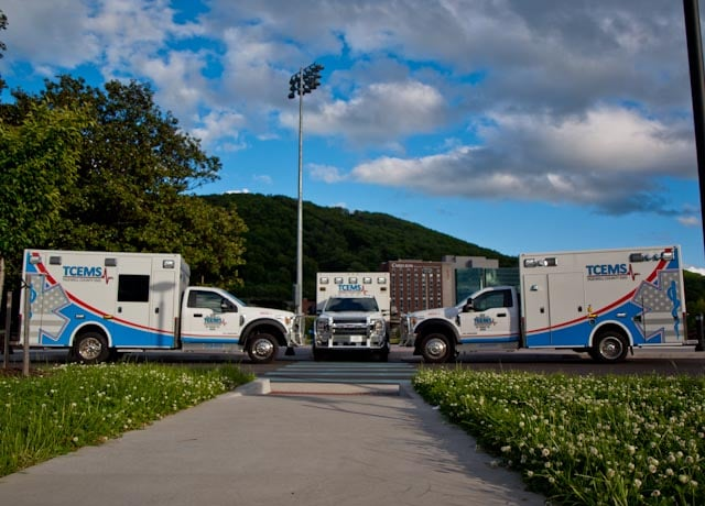 Tazewell County EMS - 3 Demers MXP150s